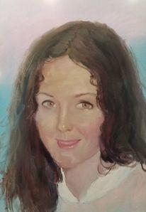 Portrait, Malerei, Ölmalerei, Liebe