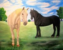 Pferde, Tadek, Auftrag, Landschaft