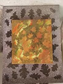 Ahorn, Laub, Blätter, Eichen