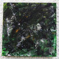 Acrylmalerei, Urwald, Abstrakt, Malerei