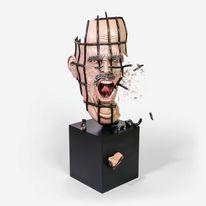 Zorn, Skulptur, Menschen, Wien