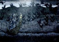 Tod, Sag, Ziehen, Zugvögel