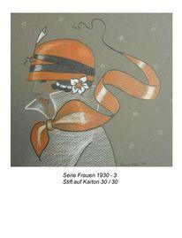 Frau, Zeichnungen, Serie