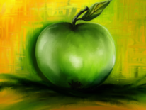 Fantasie, Apfel, Digitale kunst