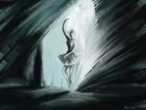 Tanz, Frau, Fantasie, Malerei