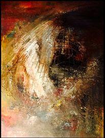 Abbild, Struktupaste, Fantasie, Acrylmalerei