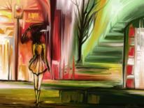 Fantasie, Spaziergang, Surreal, Frau