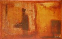 Rot, Zeitgenössisch, Abstrakt, Paket