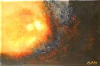 Plastische malerei, Projekt, Zeitgenössischer maler, Ökojeans