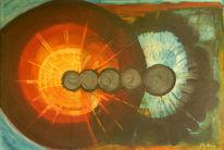 Naturtextilien, Zeitgenössischer maler, Realismus, Recycling