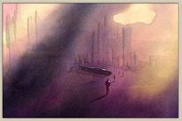 Pinsel, Aquarellmalerei, Farben, Menschen