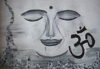 Entspannung, Buddha, Yoga, Meditation