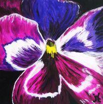 Orchidee, Malerei, Abstrakt