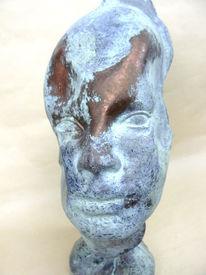 Skulptur, Rosabella, Plastik, Abstrakt