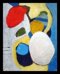 Blau, Stein, Grafik, Abstrakt