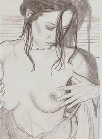 Mädchen, Figur, Realismus, Zeichnungen