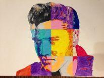 Modern art, Elvis, Modern, Malerei