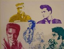 Elvis, Elvis presley, Erlkönig, Malerei