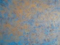 Malerei, Abstrakt, Herbst
