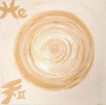 Gold, Weiß, Energie, Harmonie