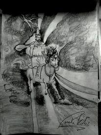 Ankunft, Heilig, Sturm, Zeichnungen