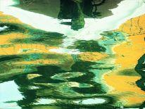 Farben, Gardasee, Wasser, Spiegelung
