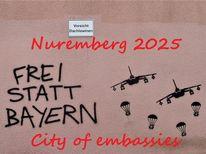 Botschaft, Piktogramm, Bewerbung, Nürnberg 2025
