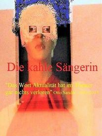 Frau, August sander, Theater, Kahle sängerin