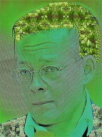 Allegorie, Portrait, Kopf, Menschen