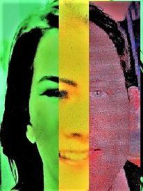 Mann, Politisch farbenlehre, Gesicht, Menschen