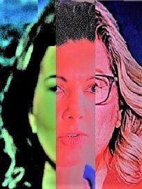 Portrait, Politische farbenlehre, Synthese, Menschen