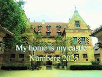 Nürnberg 2025, Archiktektur, Schloss, Almoshof