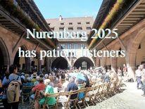 Botschaft, Wohnstift, Nuremberg 2025, Patient listeners