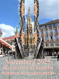 Botschaft, Ummantelung, Bewerbung, Nuremberg 2025