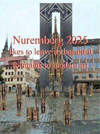 Botschaft, Verleih, Nürnberg 2025, Moderne kunst