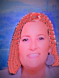 Frau, Farben, Portrait, Kopf