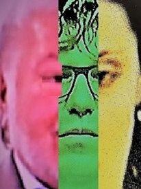 Frau, Politische farbenlehre, Gesicht, Menschen