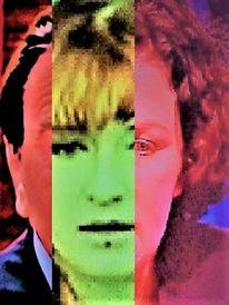 Gesicht, Politische farbenlehre, Portrait, Menschen