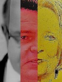 Kopf, Umfrage, Mann, Politische farbenlehre