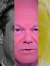 Synthese, Politische farbenlehre, Portrait, Menschen