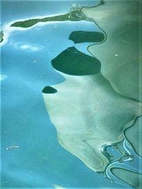 Spiegelung, Hafen, Maderno, Wasser