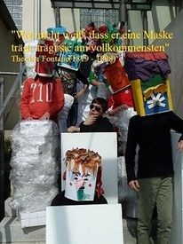 Menschen, Gesicht, Portrait, Maske