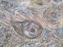 Luft, Sturm, Orkan, Malerei