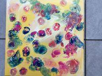 Abstrakt, Bunt, Farben, Seifenblasen