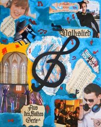 Popkonzert, Kopfhörer, Spannung, Note musik