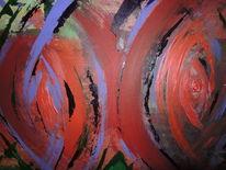 Acrylmalerei, Malerei, Ausschnitt