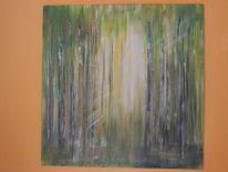 Acrylmalerei, Abstrakte malerei, Moderne kunst, Meditation