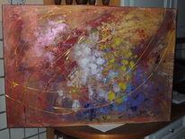 Gold, Abstrakt, Moderne kunst, Energie