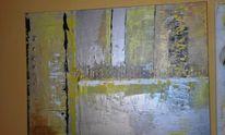Abstrakt, Groß, Acrylmalerei, Modern