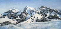 Berge, Malerei